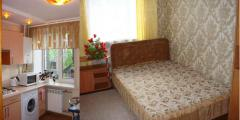 Rent of apartments by the day and pochasovo.