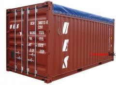 Перевезення вантажів стандартними контейнерами