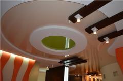 Design of stretch ceilings