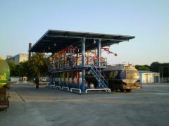 Строительство складов нефтепродуктов