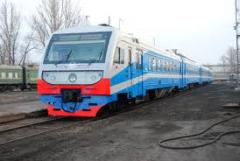 "Advertizing in the trains ""Ukrzal_znits _"