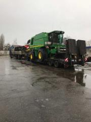 Сбор уборка подсолнечника,обработка земли по Украине.