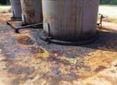 Очистка донных отложений нефтяных резервуаров