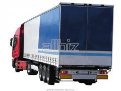Cargo transportation automobile across Ukraine