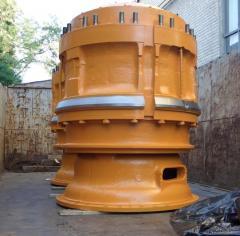 Ремонт и восстановление крупногабаритных узлов и агрегатов автомобилей БЕЛАЗ.