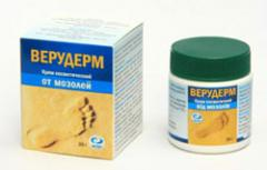 Removals of callosities and natoptyshy cream