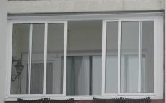 Glazing of balconies and loggias, glazing of