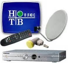 Трансляция цифрового пакета НТВ+