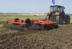 Дискование почвы