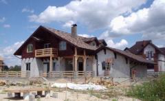 Коттеджное строительство. Украина, Киев. Проектирование и cтроительство коттеджей по канадской деревянно-каркасной технологии «под ключ». Возможность просмотра построенных домов.