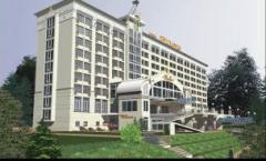 Design of hotel complexes