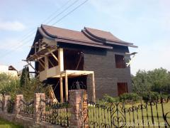 Проектирование дачных домов. Украина, Киев. Проектирование и cтроительство коттеджей по канадской деревянно-каркасной технологии «под ключ». Возможность просмотра построенных домов.