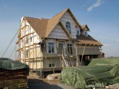 Строительные услуги. Украина, Киев. Проектирование и cтроительство коттеджей по канадской деревянно-каркасной технологии «под ключ». Возможность просмотра построенных домов.