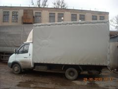 Пошив тентов на грузовые автомобили из ПВХ под