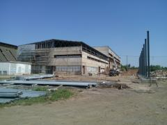 Construction of industrial buildings