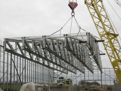 Installation of a metalwork of LSTK