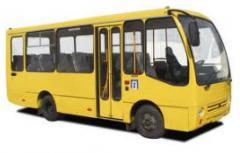 Услуги по ремонту кузовов автобусов всех типов