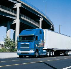 Cargo delivery is automobile. An automobile cargo