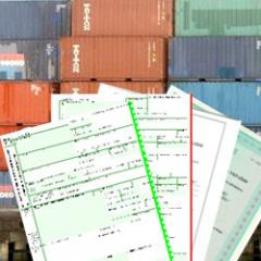 Documents for customs registration of impor