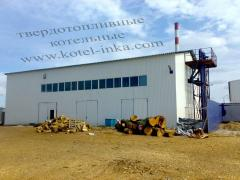 Reconstruction of boiler rooms installation of