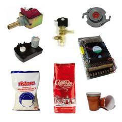 Полный спектр услуг для вендинговых аппаратов (расходные материалы, ингредиенты, комплектующие, сервис, ремонт)
