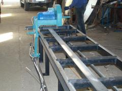 Production of the woodworking equipmen