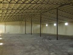 Warming of hangars polyurethane foam