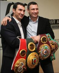 Klitschko's portrai