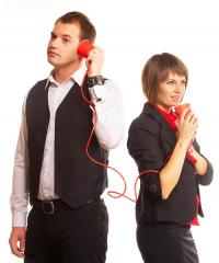 Услуги фиксированной телефонной связи с...