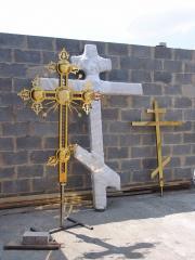 Изготовление накупольных крестов, Черкассы