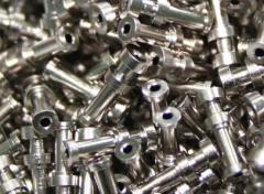 Hot galvanizing of hardware