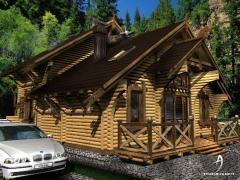 بيوت خشبية