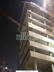 Строительство зданий по блочной системе.