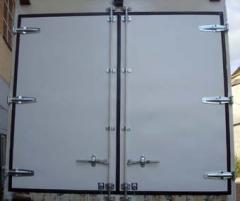 Production of back gate of a van, truck, repair,