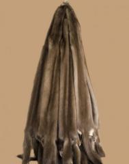 Обработка из норки пушно-мехового сырья