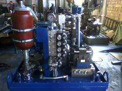 Design and development of hydraulic pump stations