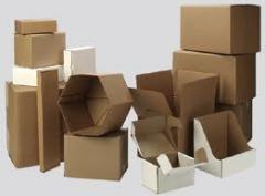 Wholesale of packaging from a corrugated