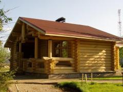 Construction of houses, baths, saunas in Ukraine