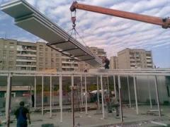 Installation of sendvich-panels