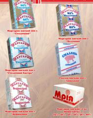 We make margarine and smalets, Ukraine