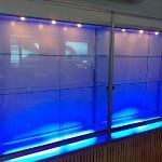 Illumination of trading floors, shops