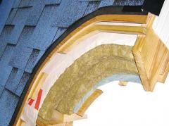 Укладка утеплителя в один слой 50 мм. минеральная вата Николаев Украина