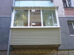 Repair of balconies