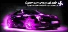Illumination of rims of SMART WHEELS Ukraine