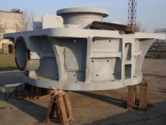 Repair of crushers of KMDT,  KSD