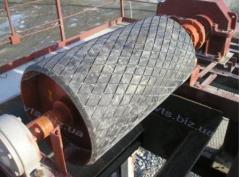Ремонт отклоняющего барабана ф400 конвейера 2Л-120