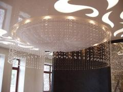 Stylish registration of ceilings.