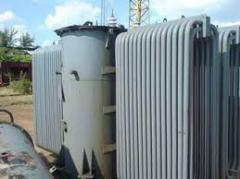 Production of high-voltage power oil transformers