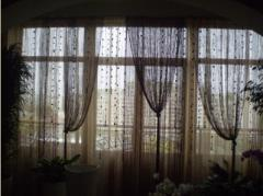 Curtains from busin.oformleny conference hall