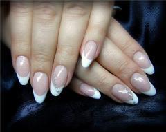 Коррекция гелевых ногтей в дизайне